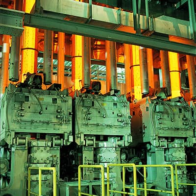 Vertical continuous caster(Chita plant)