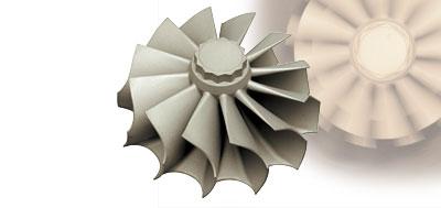 高温化での激しい回転に耐えるターボチャージャー用部品 A And Sw