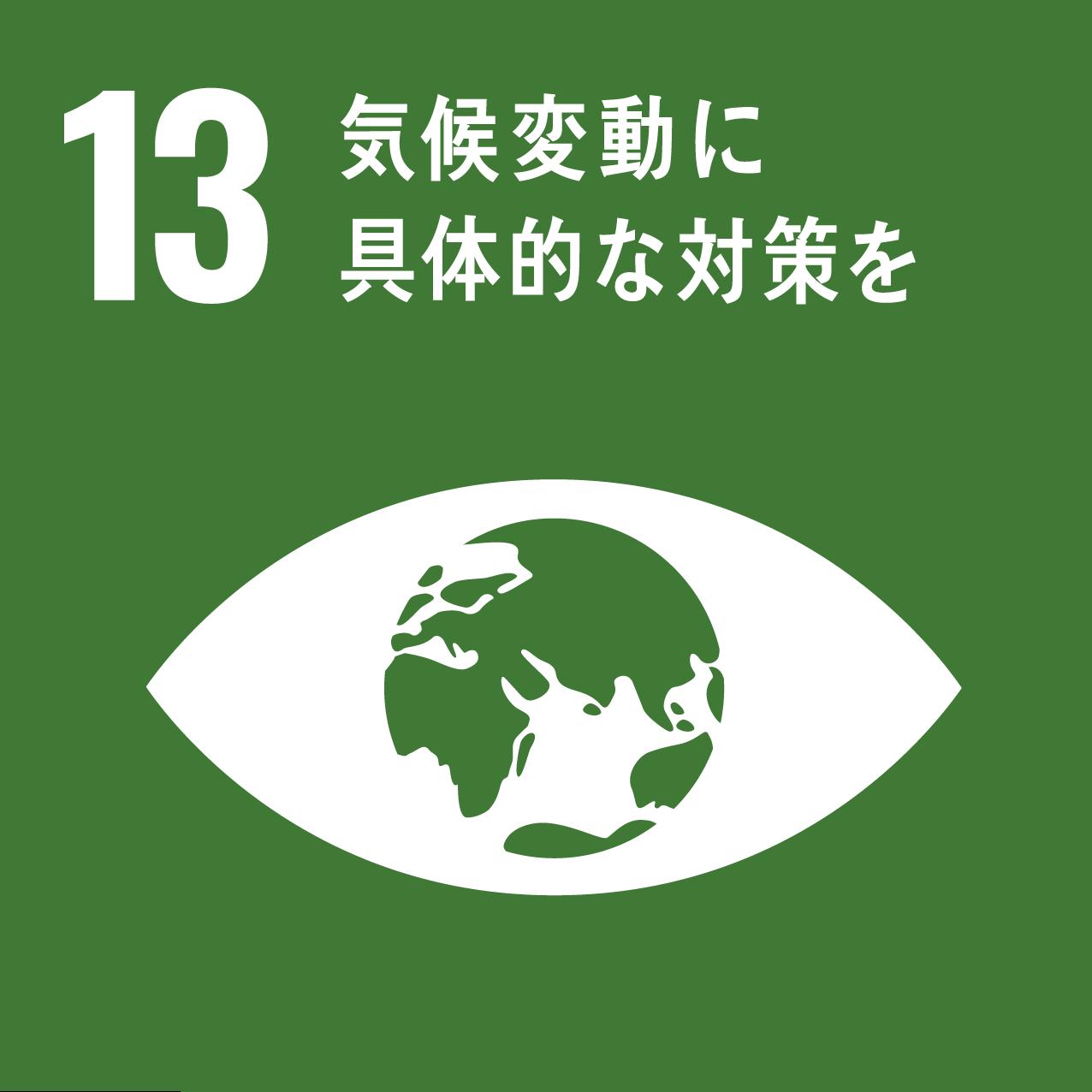 13 気候変動に具体的な対策を